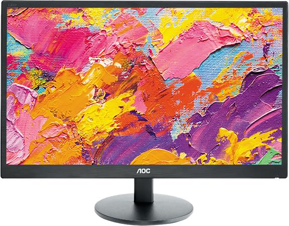 "AOC LCD E2770SH 27"" TN W-LED/1920x1080/1000:1/1ms/300 cd/VGA/HDMI/DVI/Repro/Blac"