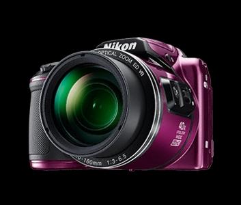 NIKON COOLPIX B500 - 16 MP, 40x zoom VR - Purple