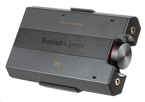 CREATIVE Sound Blaster E5, digitálně-analogový převodník, zesilovač sluchátek (e