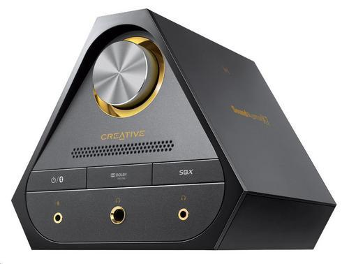 CREATIVE Sound Blaster X7, digitálně-analogový převodník s USB, zesilovač zvuku