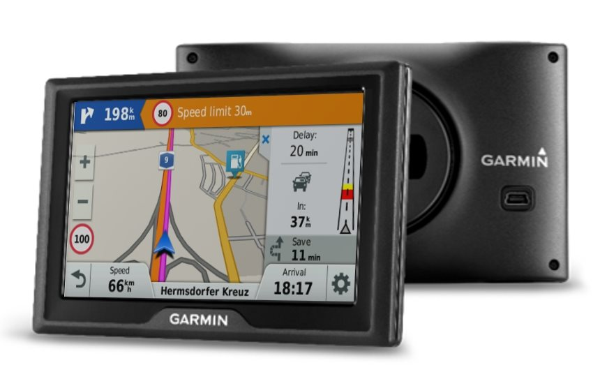 "Garmin Drive 40 Lifetime Czech - 4,3"" LCD"
