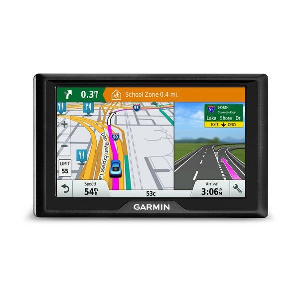 "Garmin Drive 50T Lifetime Europe45 - 45 států,5"" LCD/RDS"