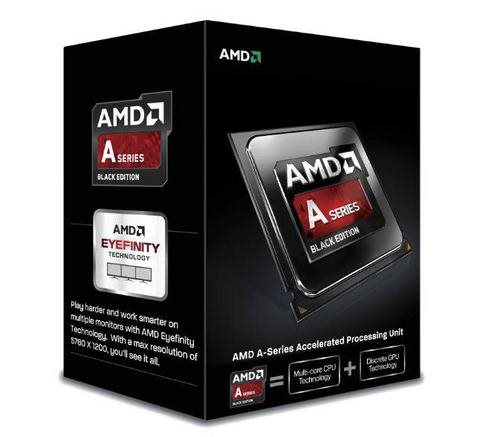 AMD cpu A6-6420K X2 Box FM2 (4.0GHz, turbo 4.2GHz, 1MB cache, 65W, 2x jádro, 2x