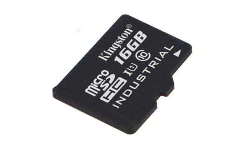 KINGSTON 16GB microSDHC UHS-I Class 10 Industrial Temp Card bez adaptéru