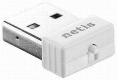 Netis USB Adapte, 802.11b/g/n, 150Mb, 2.4GHz, USB2.0, bílý