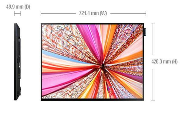 "SAMSUNG LFD LH32DMEPLGC/EN (Slim&Light LFD MIPlayer S3) /32""/D-LED BLU/1920x1080"