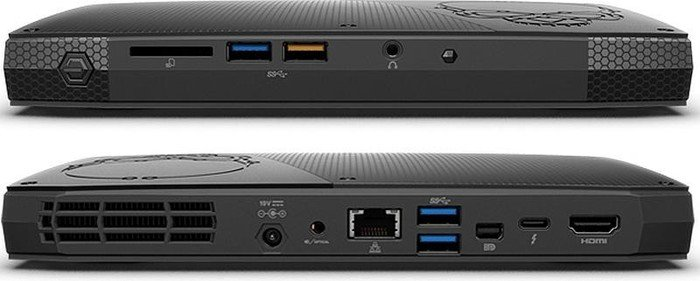 INTEL NUC Skull Canyon/Kit NUC6i7KYK/i7-6770HQ/DDR4-2133/USB3.0/HDMI/mDP/Thunder