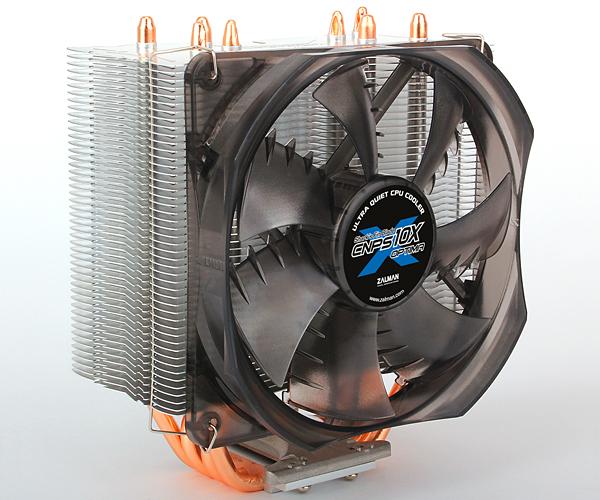 Zalman chladič CPU CNPS10X OPTIMA(2011), univ. socket, 120mm PWM fan, 4x heatpip