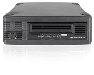 Overland-Tandberg LTO7HH SAS External Tape Drive Kit, 1x data cartridge, Model #