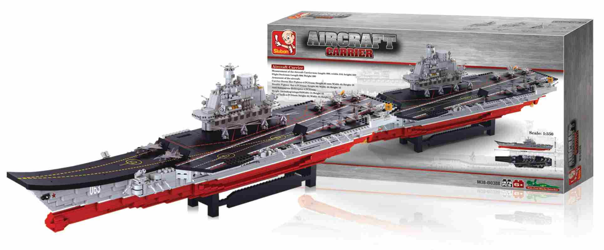 Sluban M38-B0388 - Aircraft Carrier Series - Large Aircraft Carrier