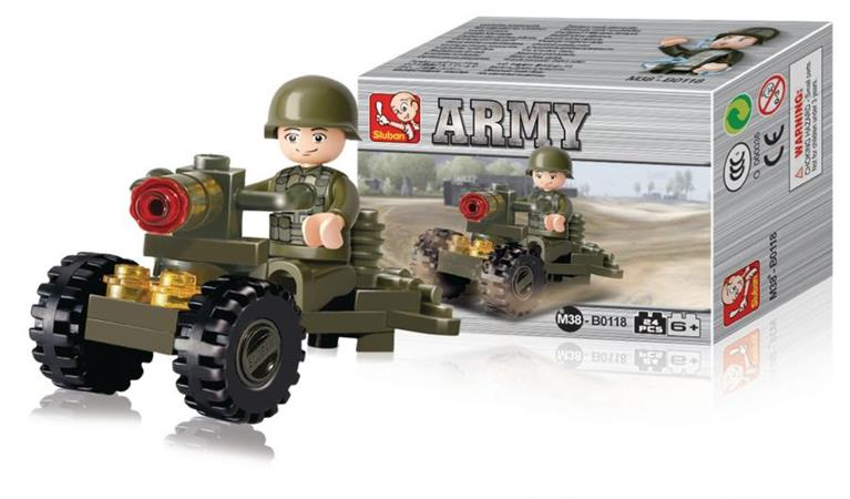 Sluban M38-B0118 - Army Series - Soldier