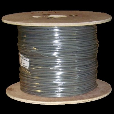 DATACOM SFTP drát CAT5E PVC 500m cívka šedý