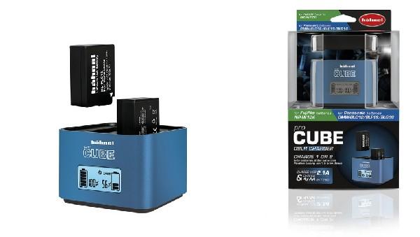 Hähnel proCUBE Fuji/Panasonic - profi nabíječka Li-ion baterií WP-W126 a DMW-BLC