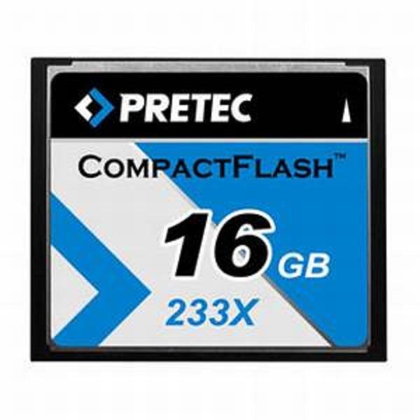 Pretec 16 GB CompactFlash 233x