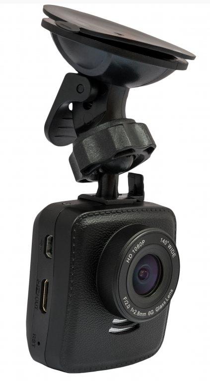 "CEL-TEC E09w GPS - palubní kamera do auta 1080p, microSDXC, WDR, WiFi,  2"" LCD,"