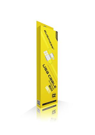 iMyMax Business Plus Micro USB Cable, Yellow