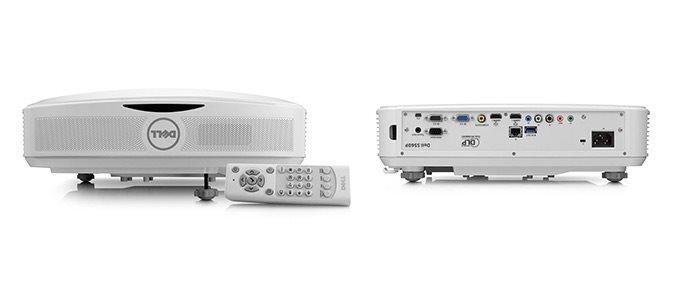 Dell S560T Projector/DLP/1920x1080 FHD/3400 ANSI/1800:1/repro/Interaktivní