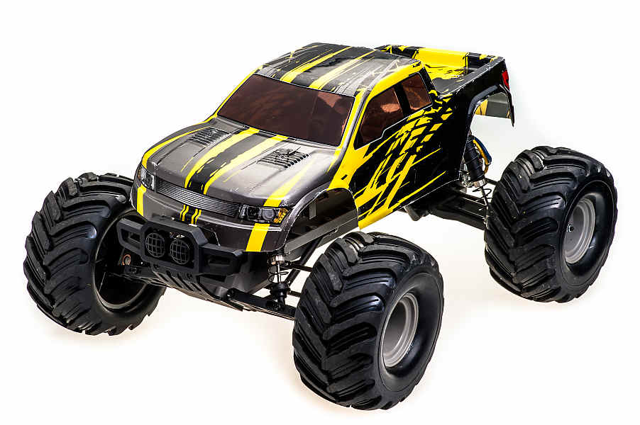 RCBUY - auto na DO Monster Volcano Yellow (XP4)