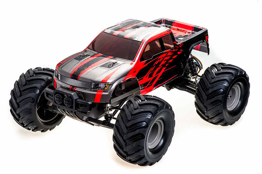 RCBUY - auto na DO Monster Volcano Red (XP4)