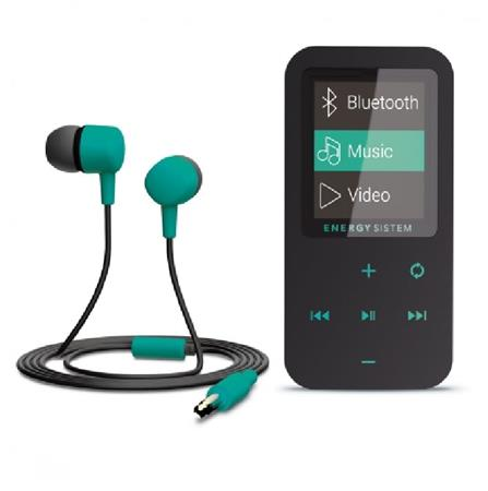 ENERGY MP4 Touch Bluetooth Mint (8GB, MicroSD, FM, sluchátka)