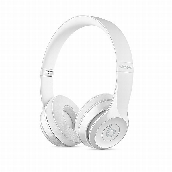 Apple Beats Solo 3 Wireless On-Ear Headphones - Gloss White
