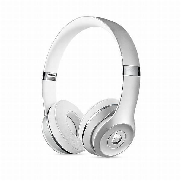 Apple Beats Solo 3 Wireless On-Ear Headphones - Silver