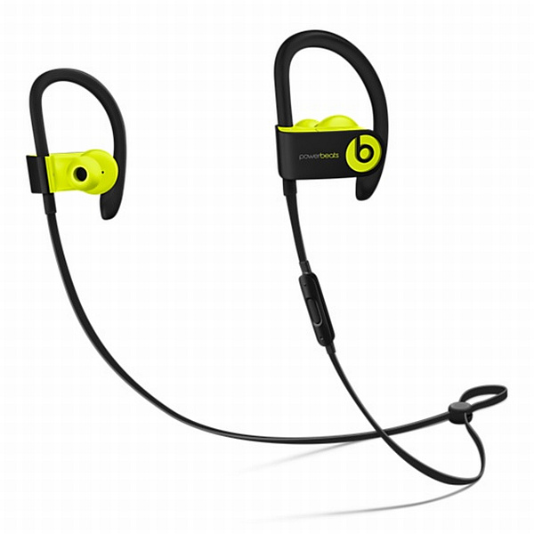 Apple Beats Powerbeats 3 Wireless In-Ear Headphones - Shock Yellow