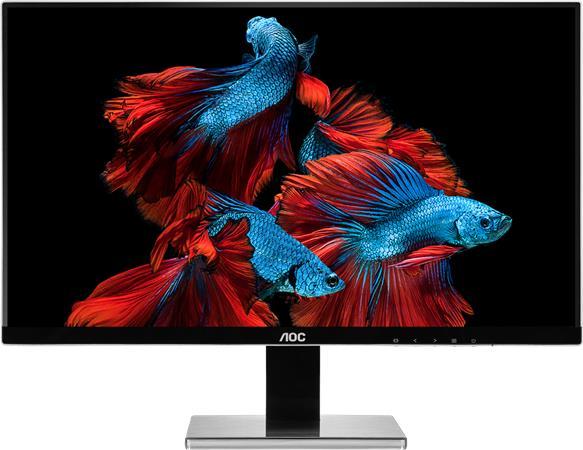 """AOC LCD U2777PQU 27"""" 4K/3840x2160/4ms/20m:1/VGA/DVI/HDMI/4xUSB/DP/pivot/repro/sl"""