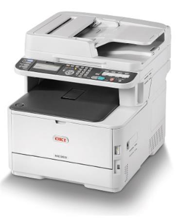 OKI MC363dn A4 30/26 ppm ProQ2400dpi, PCL/PS, RADF, 1GB RAM, USB 2.0 LAN (Print/