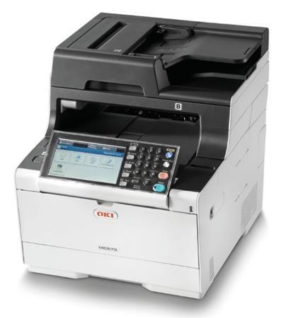 OKI MC573dn A4 30/30 ppm, 1200x1200dpi, 1GB RAM, RADF, USB 2.0 LAN, (Print/Scan/