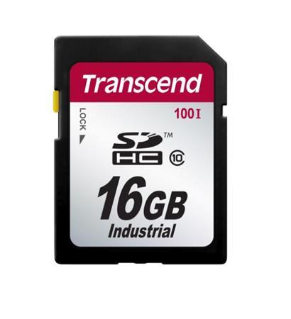 Transcend 16GB SDHC průmyslová paměťová karta (Class 10), SLC