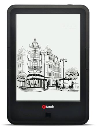 C-TECH E-book Lexis (EBR-61), dual core, Android 4.2, dotyková HD obrazovka s po
