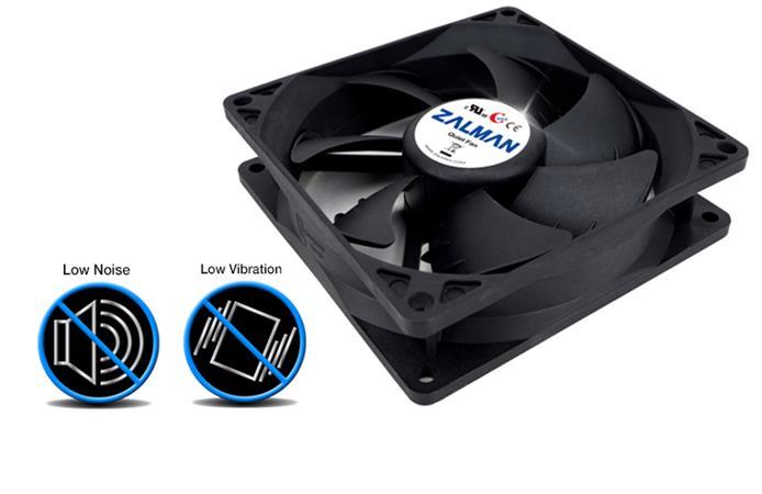 Zalman ventilátor ZM-F1 PLUS SF 80mm, 20-23 dBA, 2000rpm