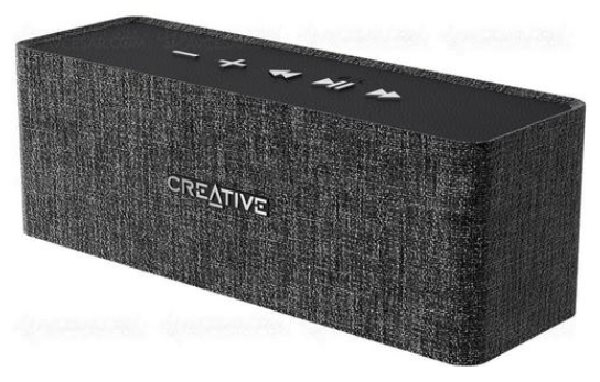 CREATIVE repro NUNO BLACK (bluetooth černé)
