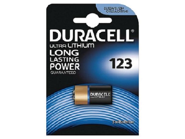 DURACELL Baterie - Baterie do digitálního fotoaparátu Rollei DL123 Battery, 3V,