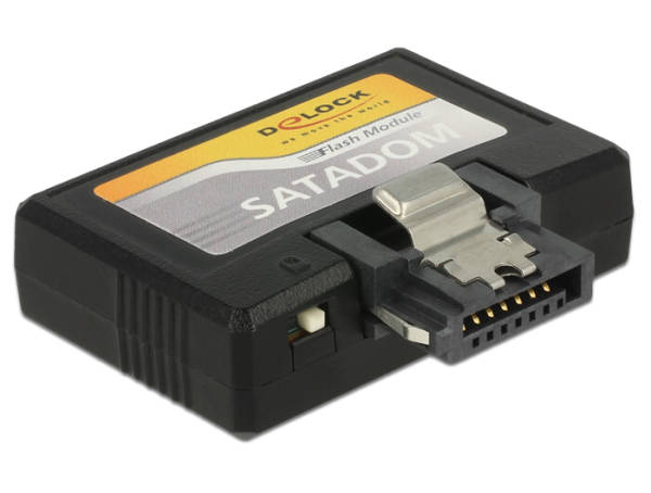 Delock SATA 6 Gb/s DOM Module 32 GB MLC SATA Pin 8 power