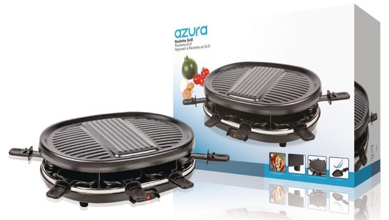 AzurA AZ-FC20 - Raclette gril, pro 8 osob