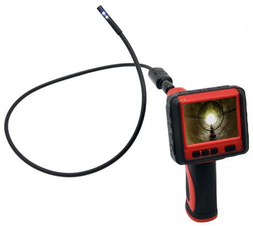 CEL-TEC InCam 990 Dual - inspekční kamera 9mm, 2 kamery, microSD/SDHC, LCD