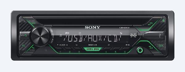 SONY CDX-G1200U Přehrávač CD, USB, AUX vstup - ORANGE