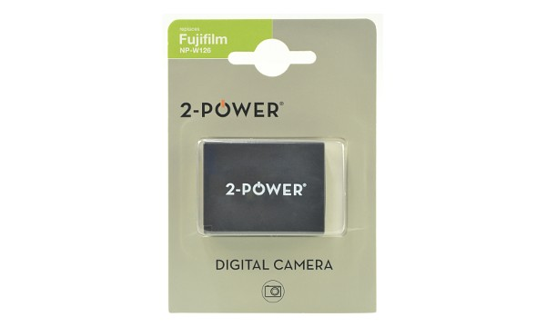 2-Power Baterie - pro digitální fotoaparát nahrazuje Fujifilm NP-W126, 7,2V, 100