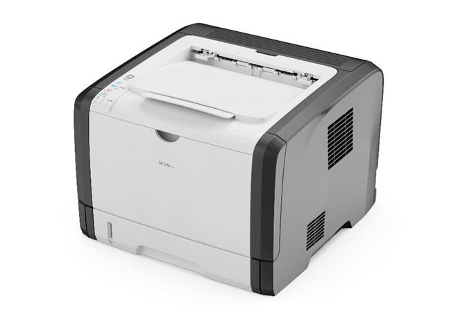 RICOH SP 377DNWX - 28 str/min, A4 Mono Printer, 128 MB, LAN, Wifi, duplex - star