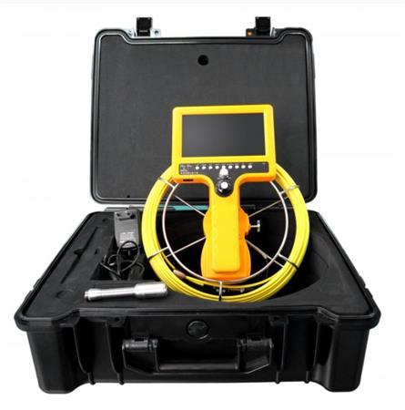 """CEL-TEC PipeCam 30 Verso - inspekční kamera, SD/SDHC, LCD 7"""", kabel 30m"""