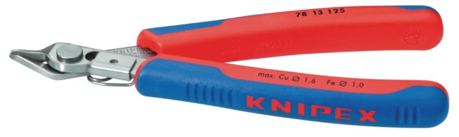 Knipex 78 13 125 - boční řezák bez zkosení