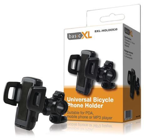 basicXL BXL-HOLDER30 - Universal držák na Telefon Jízdní Kolo, černá