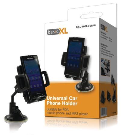basicXL BXL-HOLDER40 - Universal držák na Telefon Automobil, černá