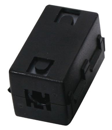 Valueline CMP-FILTER7.5 - Video Feritový Filtr, černá 7.5 mm