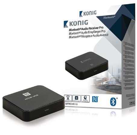 König CSBTRCVR110 - Audio Přijímač Advanced Bluetooth SPDIF, černá