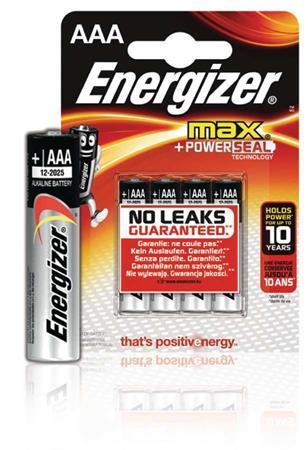 Energizer EN-E300124200 - Alkalická Baterie AAA 1.5 V Max, 4 kusy