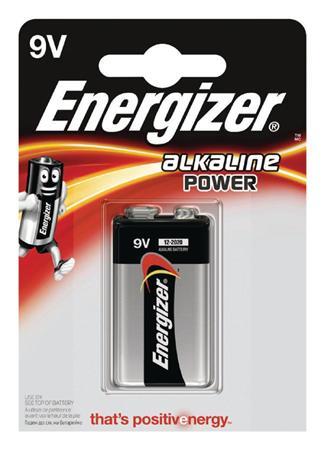 Energizer 9V - alkalická baterie Power, 1 ks