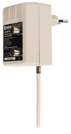 König KN-AMP-PLUG - CATV Plug-In Zesilovač 10 dB 2 Výstupy